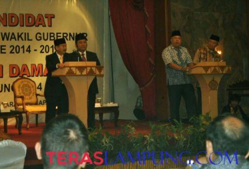 Debat Kandidat Pilgub Lampung 2014