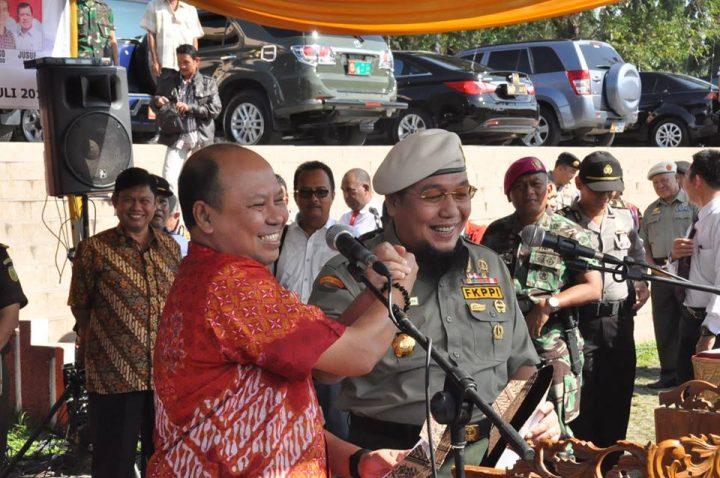 Tim Sukses Prabowo-Hatta dan Jokowi-JK Gelar Deklarasi Damai