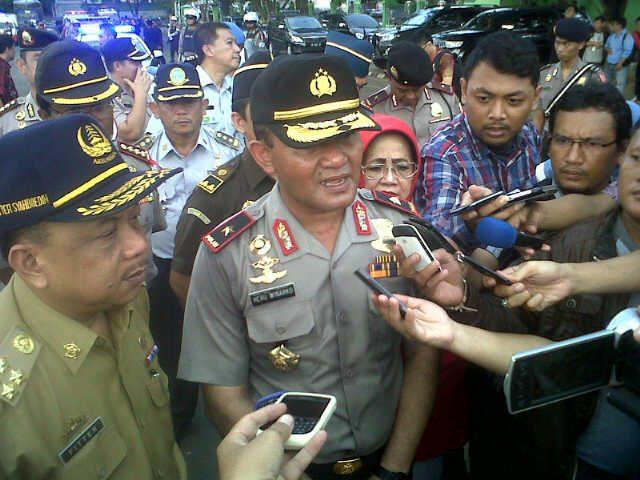Kapolda Lampung Brigjen Heru Winarko