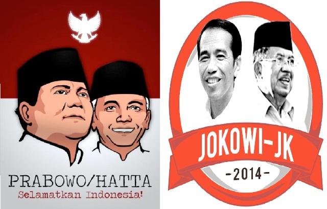 Inilah Perolehan Suara Prabowo-Hatta Rajasa dan Jokowi-JK di Lampung