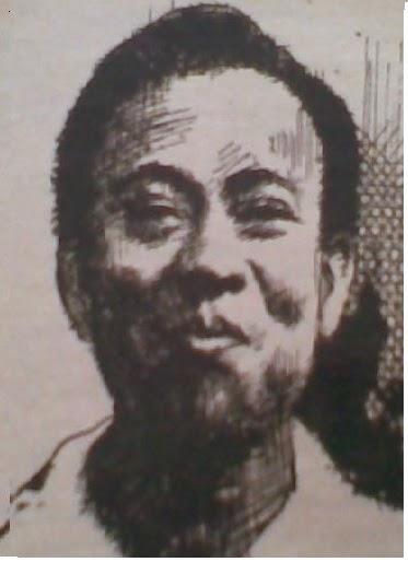 Toto Sudarto Bachtiar. (lukisan Nana Banna
