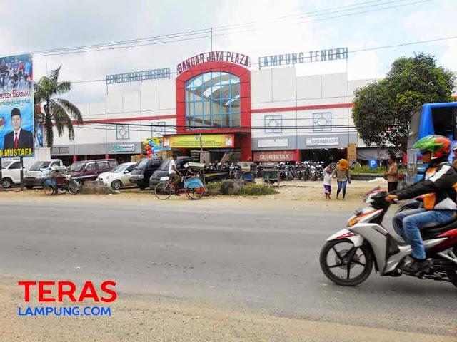 Pasar Bandarjaya di Lampung Tengah