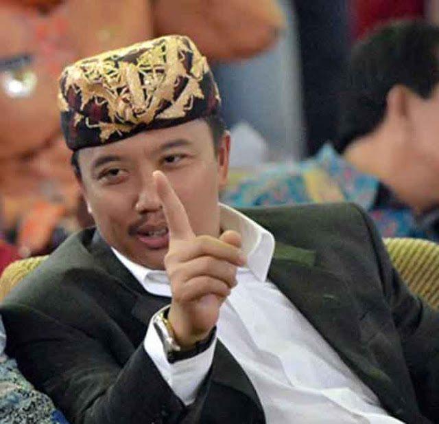 Menpora Imam Nahrawi dalam kunjungan di Lampung, 16 Mei 2016