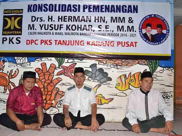 PKS Tuntaskan Konsolidasi untuk Menangkan Herman HN di Tingkat Kecamatan