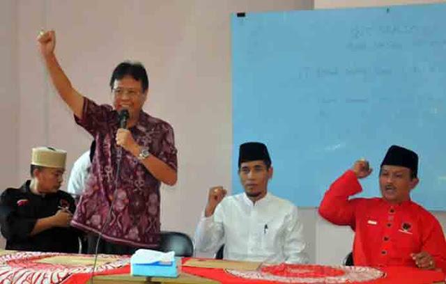 Pilkada Lamtim, PDIP Resmi Usung Erwin Arifin-Priyo Budi Utomo
