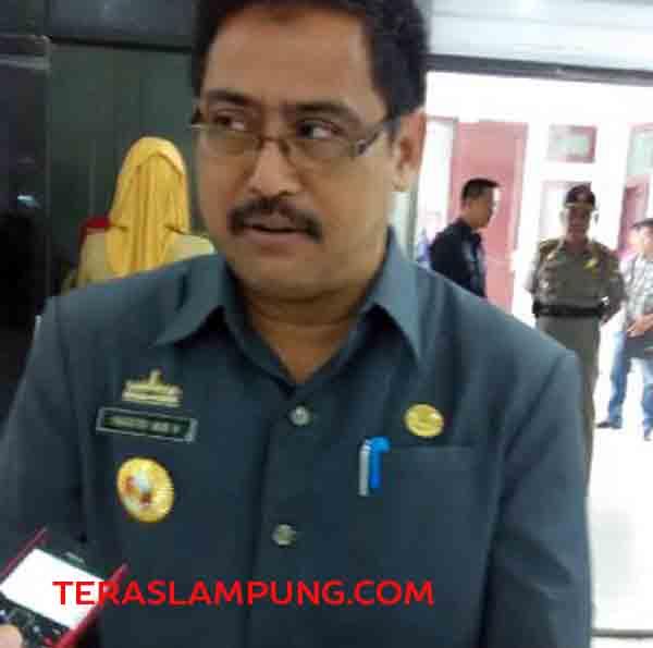 kepala dinas kesehatan Lampung Utara Prasetyo Heri Hernawan
