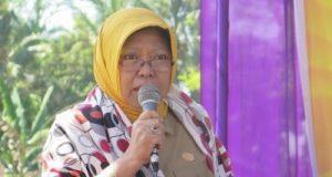 Asisten Bidang Kesra Setdakab Lampung Selatanl Dra. Ismar Kolina