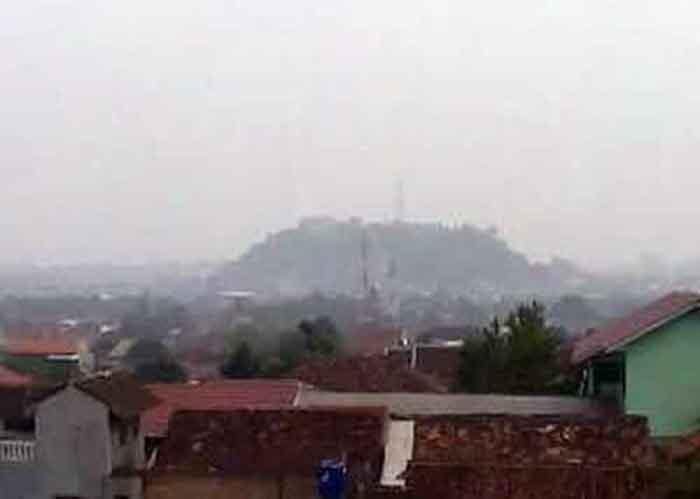 Lampung Mulai Dikepung Kabut Asap