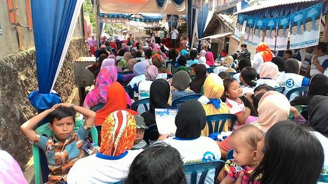 Kampanye Thobroni Harun di Kecamatan Kedaton Bandarlampung