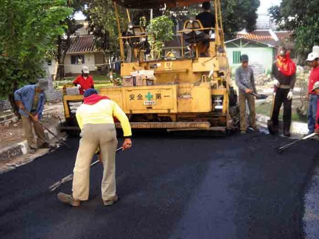 Pemerintah Kabupaten Lampung Tengah Perbaiki Sejumlah Ruas Jalan
