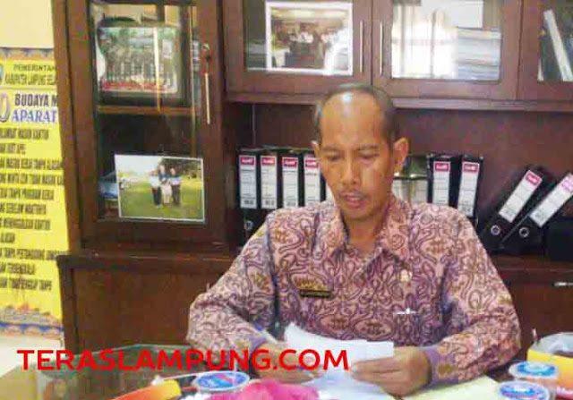 sisten Ekbang Setda Kabupaten Lampung Selatan, Ir. Erlan Murdiantono