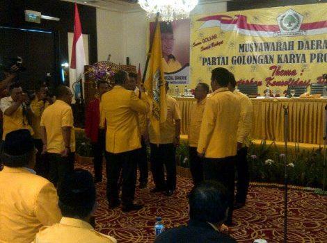 Musda Partai Golkar Lampung di Hotel Sheraton, Bandarlampung, Minggu (13/12/2015). Foto: Budi Restu Arista