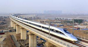 Kereta api cepat (ilustrasi/voaindonesia.com)