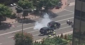 Teror bom diJalan Thamrin Jakarta
