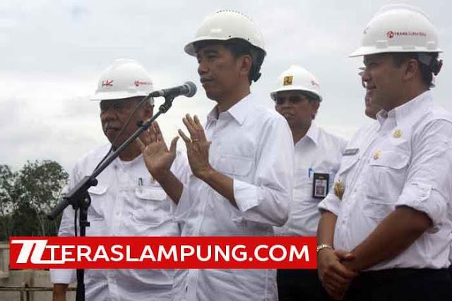 Jokowi Pilih Tol Trans Sumatera di Lampung untuk Diperkenalkan ke Mancanegara