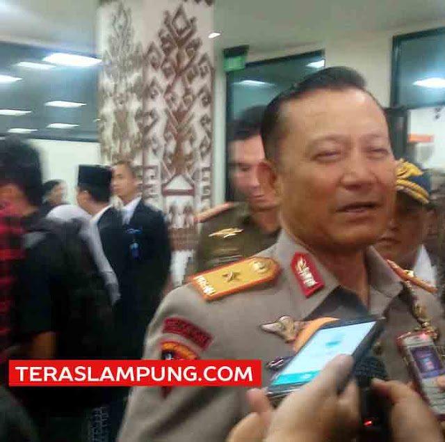 Kapolda Lampung Brigjen (Pol) Ike Edwin