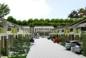 Vieuw Emerald Hill Residence (maket)
