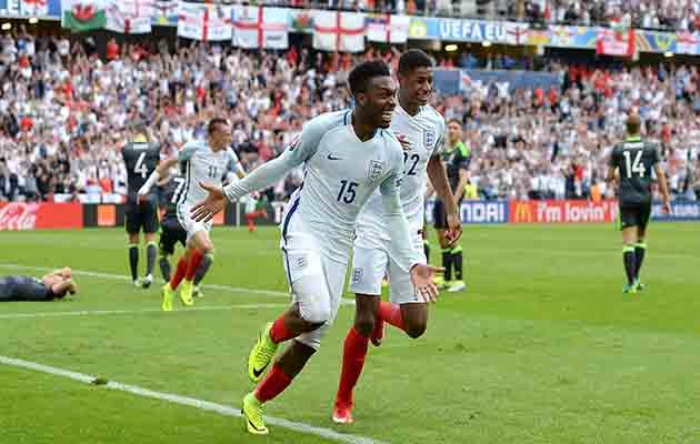 Piala Eropa 2016: Dramatis, Inggris Kandaskan Wales 2-1