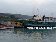 Kapal roro merapat di Pelabuhan Bakaueni (ilustrasi)