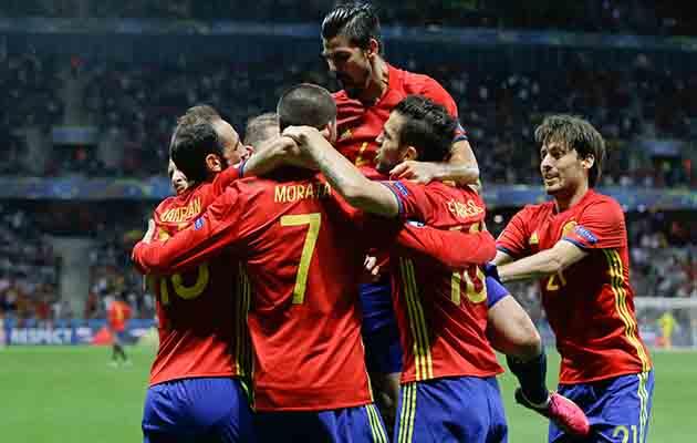 Spanyol Produktif saat Melaju ke 16 Besar