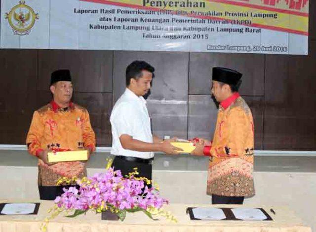 WTP pertama Lampung Utara