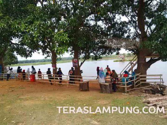 Bendungan Tirta Sinta di Lampung Utara