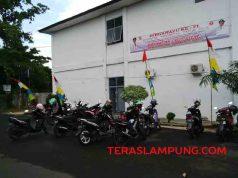 Lahan Parkir Pemkab Lampung Utara
