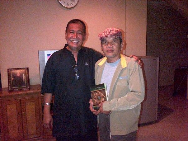 Mas Yoyok dan Wagub Jabar Dedy Mizwar di Gedung Sate, Bandung, Jawa Barat.