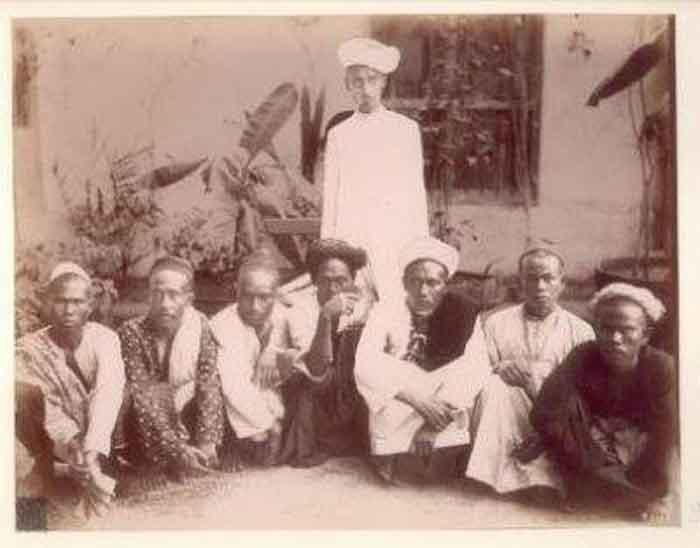 Haji dari Banten pada tahun 1800-an ( (Foto: Tropenmuseum)