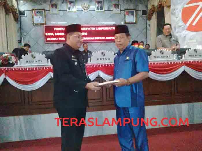 KUA PPAS Perubahan Kabupaten Lampung Utara 2016