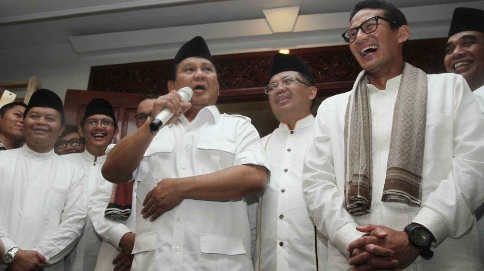 Gerindra dan PKS Usung Anies Baswedan-Sandiaga Uno sebagai Cagub-Cawagub DKI Jakarta