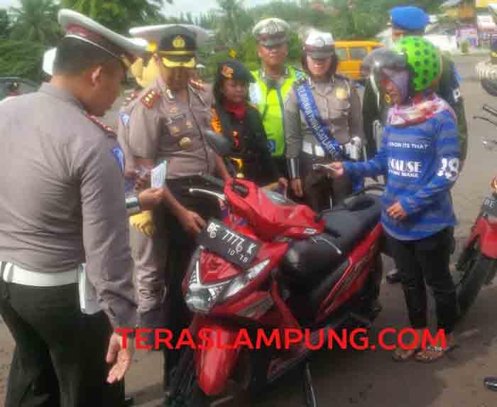Operasi Zebra di Lampung Utara