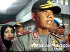 Kapolda Lampung Irjen Sudjarno