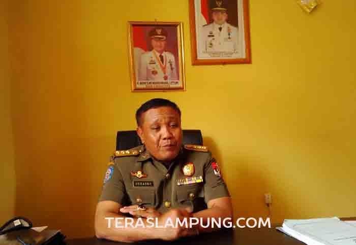 Sat Pol PP Lampung Utara Amankan Lima Penderita Gangguan Jiwa