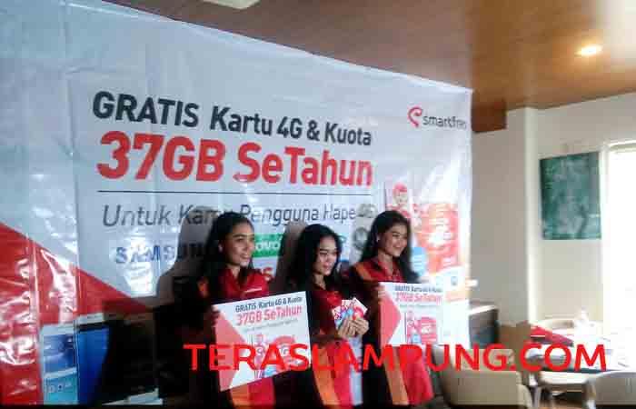 Smartfren Luncurkan Kartu Perdana 4G GSM+ di Lampung