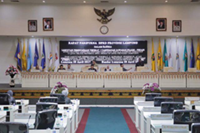 Pemda dan DPRD Lampung Saling Dukung Terkait 12 Raperda Inisiatif serta Empat Raperda Prakarsa Pemda