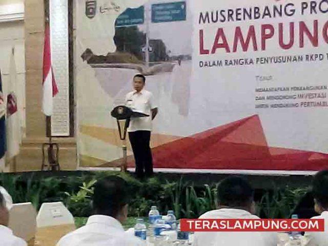 Gubernur Lampung Ridho Ficardo