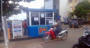 Mesin parkir yang dikelola oleh PT. Oto Guardian Solusi yang diduga menjadi biang kekesalan warga.