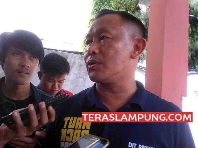 Direktur Reserse Kriminal Umum Polda Lampung, Kombes Pol Heri Sumarji