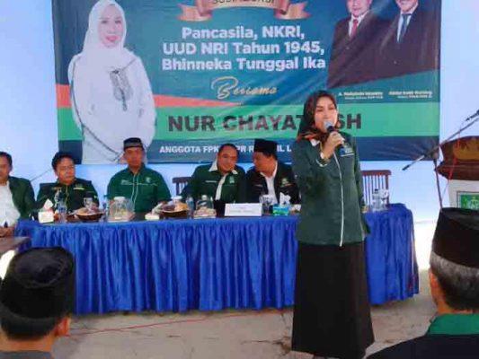 DPC PKB Lampung Utara Sosialisasikan Empat Pilar Kebangsaan