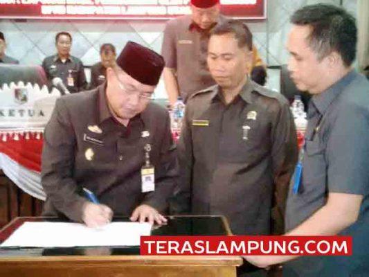 Dua Raperda Lampung Utara Ditolak Pemprov Lampung
