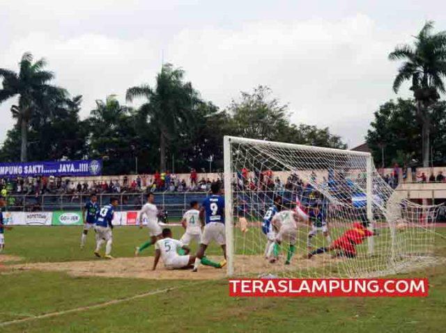 Lampung Sakti Tundukkan Perkabo Bogor 2-0