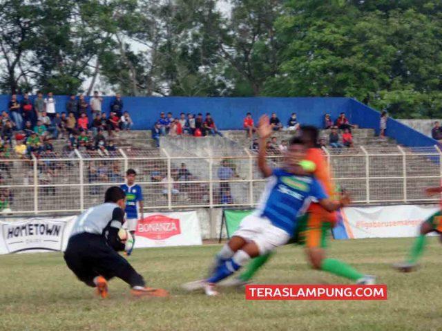 Lampung Sakti Benamkan PS Bengkulu 3-0