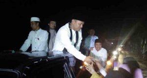 Bupati Lampung Tengah Mustafa takbiran Idul Adha 1438 H