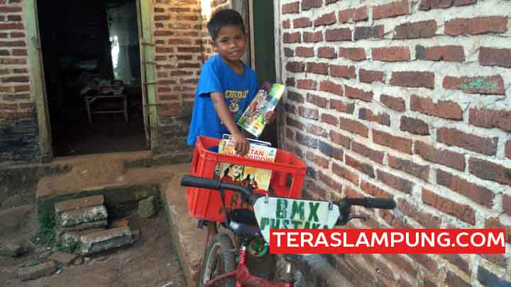 Khoirul Alfine Romadhony, Bocah SD Pahlawan  Literasi dari Lampung Timur