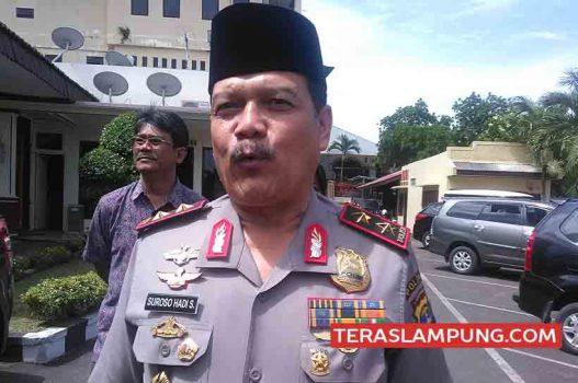Kapolda Lampung Irjen Suroso Hadi Siswoyo