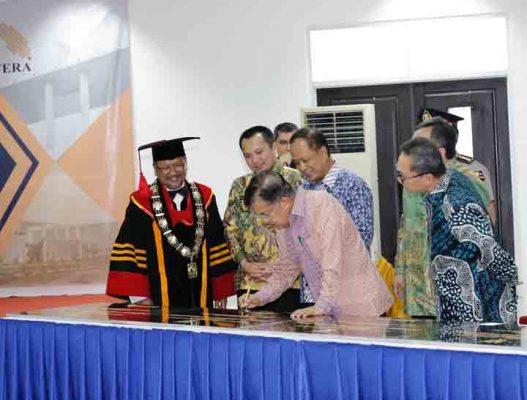 Wapres Jusuf Kalla Dukung Percepatan Pembangunan Itera