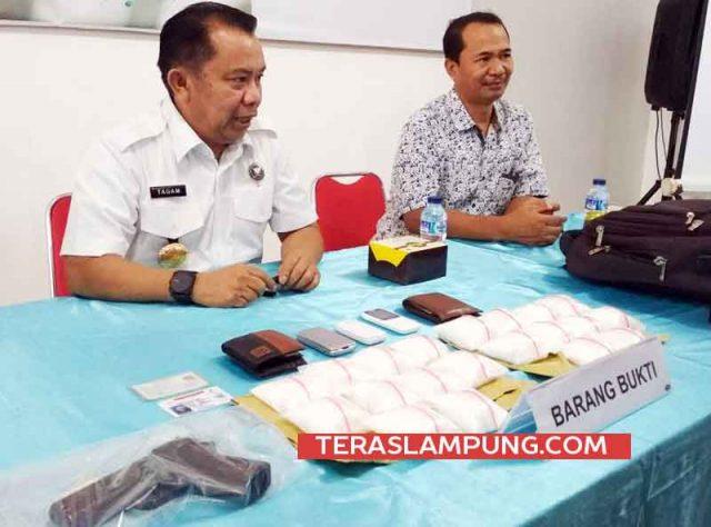 Kepala BNPP Lampung, Brigjen Pol Tagam Sinaga