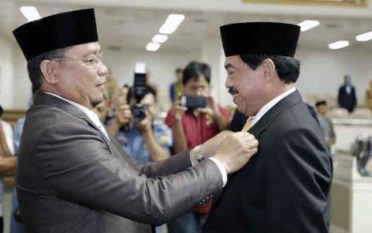 PAW, Riza Mirhadi Dilantik sebagai Anggota DPRD Lampung