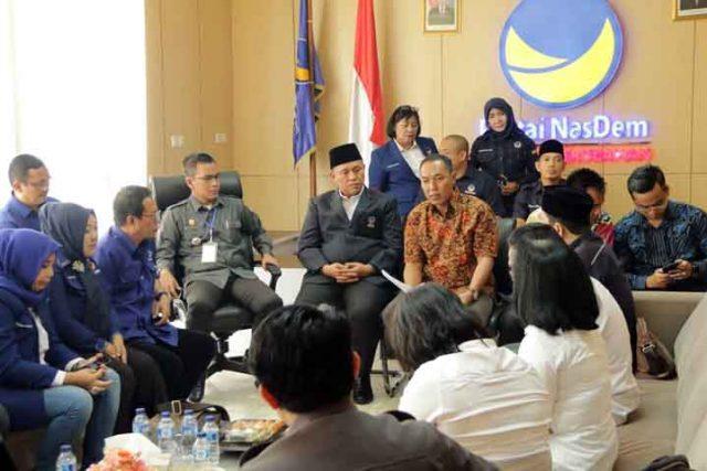 Verifikasi faktual Partai Nasdem Lampung.